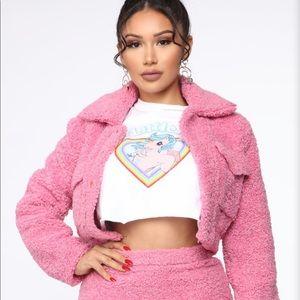 Fashion Nova Skirts - Brand new Sherpa set still in packaging